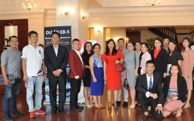 EB-5 Seminar in HCMC, Vietnam at Continental Siagon Hotel