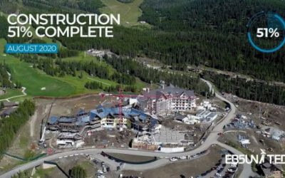 Site Visit & Construction Update from Montage Hotel & Residences – Big Sky, Montana [Aug 2020]