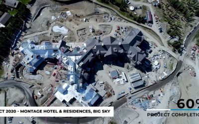 Construction Update from Montage Hotel & Residences – Big Sky [OCT 2020]
